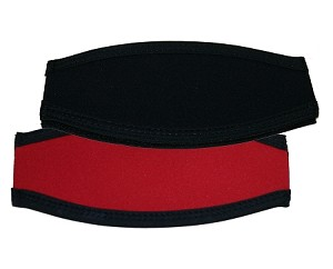 Solid Color EZ Slap Wrapper- Black/Red