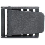 Black Plastic Weight Belt Buckle