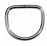 6mm D Ring, Stainless Steel