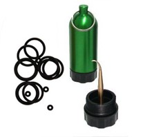 Scuba Tank Keychain with O-rings and Pick - Viton