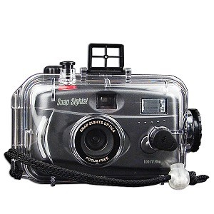 100 FT Waterproof Camera - Flash (Expiring 3/2018, Camera can be reloaded with film)