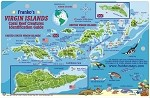 Virgin Island  Map & Fish ID Card