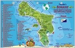 Bonaire  Map & Fish ID Card