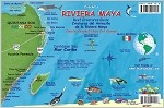 Riveria Maya Map & Fish ID Card