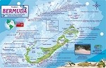 Bermuda Map & Fish ID Card