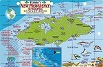 New Providence Map & Fish ID Card