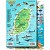 Grenada Map & Fish ID Card