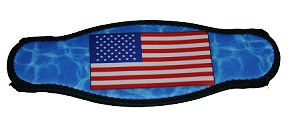 Picture Buckle Strap - American Flag