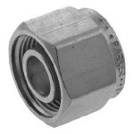 Compression Tube Cap/Plug, Stainless Steel