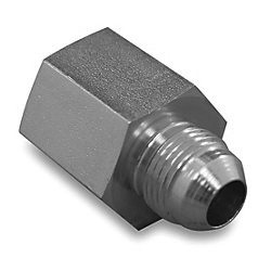 "Adapter - A/N Male Hose to 1/4"" FNPT, Stainless Steel"