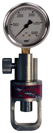 Pneumatic EZ Check Tank Checker with Heavy Duty Bleed Screw