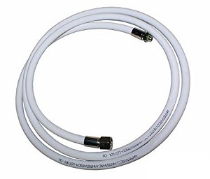 "30"" Low Pressure Oxygen Regulator Hose - 3/8"" x 24"