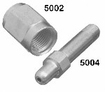 Air Nipple - CGA 347, Stainless Steel