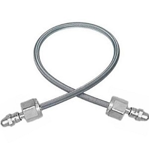 "Flex Air Pigtail - CGA 346 - 36"" Braided, Stainless Steel"
