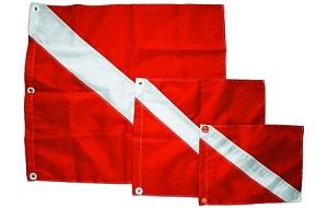 "20"" X 24""  Heavy Duty Nylon Flag"