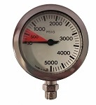 Full Size Pressure Gauge Only - No Hose or Console