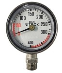 Mini NITROX Pressure Gauge Only - 400 BAR Only - No Hose or Console