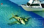 Cessna Wreck, New Providence - 3D Dive Site Card