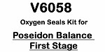 Poseidon Balance First Stage Oxygen Compatible Regulator Kit