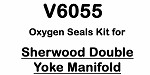 Sherwood Double Yoke Manifold Oxygen Compatible Valve Kit