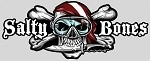 Skull with Knife & Dive Flag  Sticker - 3