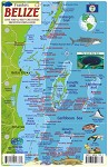 Belize Map & Fish ID Card