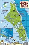 Andros Island  Map & Fish ID Card