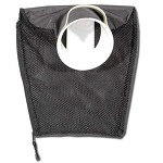 1/2 Nylon 1/2  Mesh Hotel with Side Zipper - Mouth with Handle