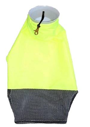1/2 Nylon 1/2  Mesh Hotel with  Bottom Zipper - Mouth with Clip