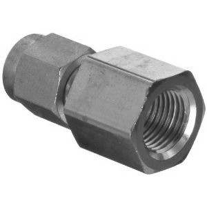 "Adapter - 1/4"" FNPT to 1/8"" Tube, Stainless Steel"
