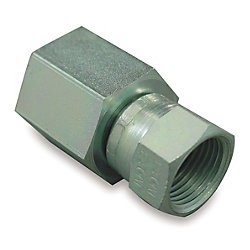 "Adapter - A/N Female Hose to 1/4"" FNPT, Carbon Steel"