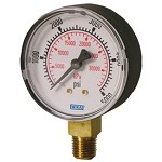 0-4000 PSI Oxygen Clean and Compatible Gauge - 2.5
