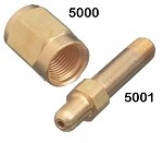 Air Nut - CGA 347, Brass