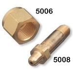 Air Nut - CGA 346, Brass