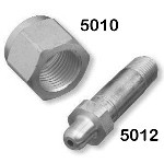 Air Nipple - CGA 346, Stainless Steel