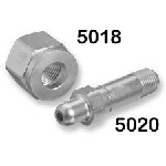 Oxygen Nipple - CGA 540, Stainless Steel