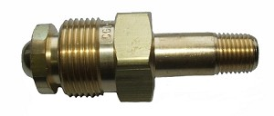 Air Nut & Nipple - CGA 702, Brass