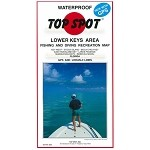 Lower Keys Top Spot Charts (Key West  to Rebecca Shoal)