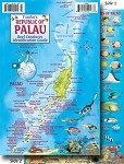 Palau Map & Fish ID Card