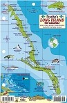 Long Island Bahamas Map & Fish ID Card