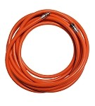 25 ft Floating Orange Low Pressure Standard Hooka Hose (3/8 X 24)