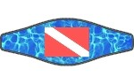 Picture Buckle Strap - Dive Flag