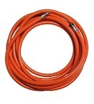 50 ft Floating Orange Low Pressure Standard Hooka Hose (3/8 X 24)